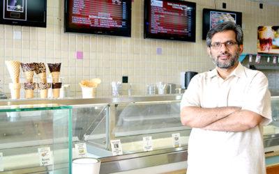 Hussain Kedwaii, CEO Ked's Artisan Ice Cream and Treats